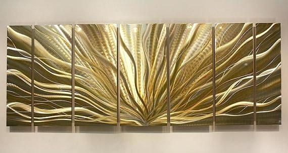 Silver Wall Art Decor Best Silver Wall Art Ideas On Silver Walls With Regard To Gold Wall Art (View 5 of 10)