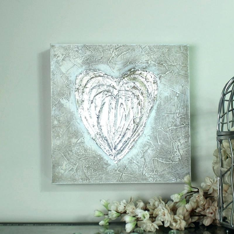 Silver Wall Art Decor Best Silver Wall Art Ideas On Silver Walls Within Silver Wall Art (Image 11 of 20)