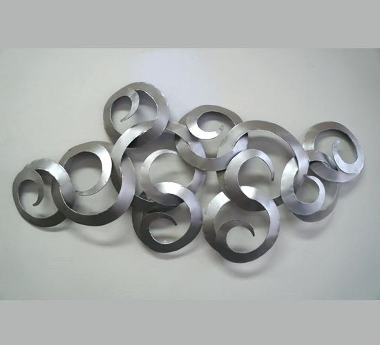 Silver Wall Decor Like This Item Silver Round Metal Wall Decor Throughout Silver Metal Wall Art (Image 22 of 25)