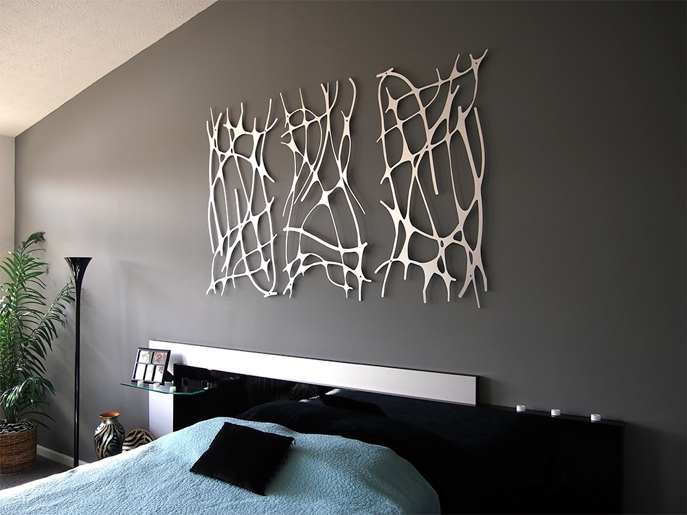 Simple Contemporary Metal Wall Art Decor — Joanne Russo Homesjoanne With Regard To Contemporary Wall Art Decors (View 23 of 25)