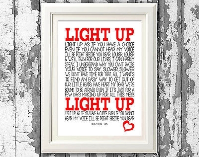 Snow Patrol – Run Song Lyric Posters Typography Print Song Lyrics With Regard To Song Lyric Wall Art (View 19 of 20)