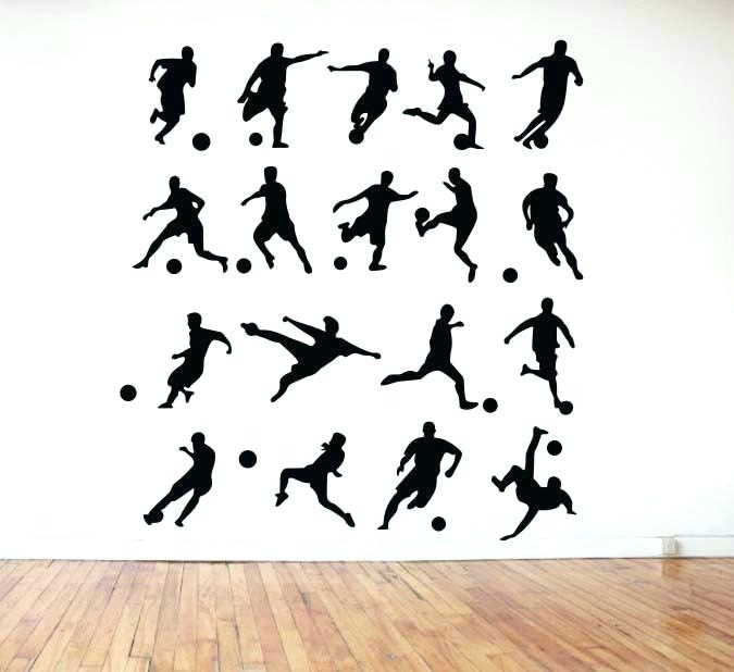 Soccer Wall Decor Soccer Wall Art Designs Football Players On Canvas Within Soccer Wall Art (Image 19 of 25)