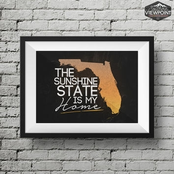 Southernviewpoint On Etsy On Wanelo Throughout Florida Wall Art (Image 19 of 20)