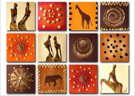 Special Tiles Canvas Wall Art – Cheap African Canvas Art With Tile Canvas Wall Art (Image 24 of 25)