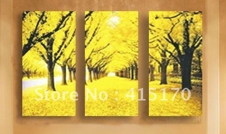 Spectacular Yellow Wall Art Cute Yellow Canvas Wall Art – Wall Throughout Yellow Wall Art (View 13 of 20)