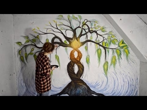 Speed Painting – Wall Art – Youtube Regarding Wall Art Paintings (View 4 of 25)