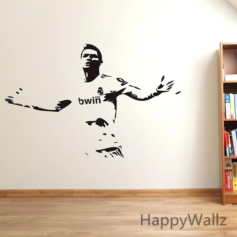 Sport Wall Decals Sports Vinyl Wall Art Basketball Man Sport Playing With Sports Wall Art (Image 10 of 25)