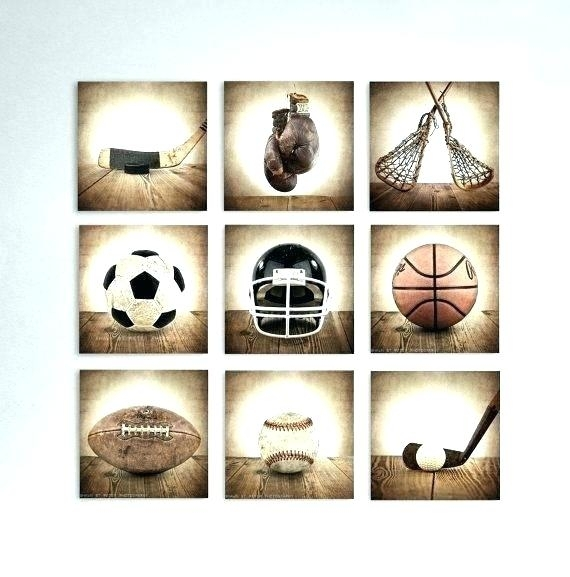 Sports Wall Decor Sport Wall Art Sport Wall Decor Vintage Sports Art Inside Sports Wall Art (View 11 of 25)