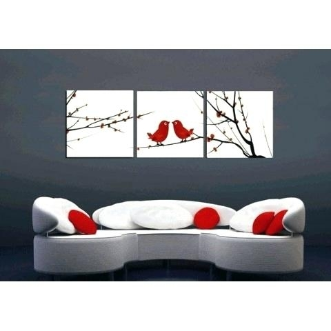 Square Wall Art Vinyl Wall Art Rectangles Square Shapes Wallnew For Bird Framed Canvas Wall Art (Image 23 of 25)