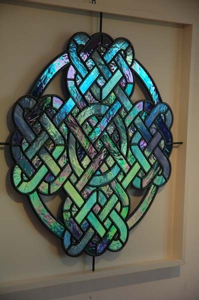 Stained Glass Glass Wall Art – Stained Glass Art Inside Stained Glass Wall Art (View 14 of 25)