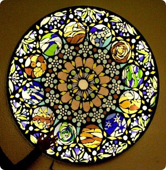 Stained Glass Mosaic Wall Art | Mosaic & Stained Glass | Pinterest Pertaining To Stained Glass Wall Art (View 12 of 25)