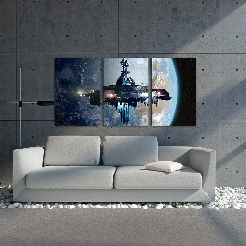 Star Wars Wall Art Decor – Barely Geek Within Star Wars Wall Art (Image 8 of 10)