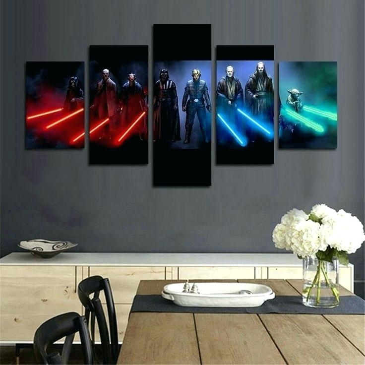 Star Wars Wall – Microdirectory With Regard To Star Wars Wall Art (Image 7 of 10)