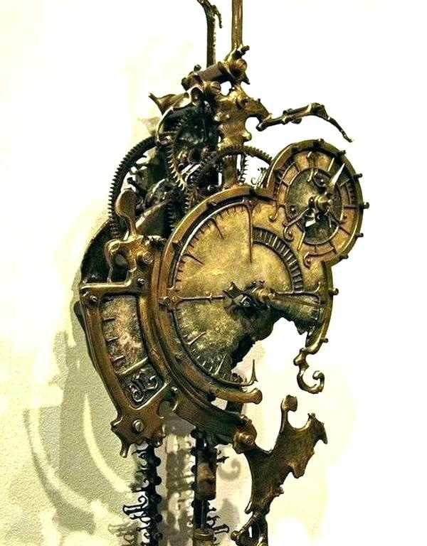 Steampunk Wall Decor – Etsmarketing For Steampunk Wall Art (View 18 of 25)