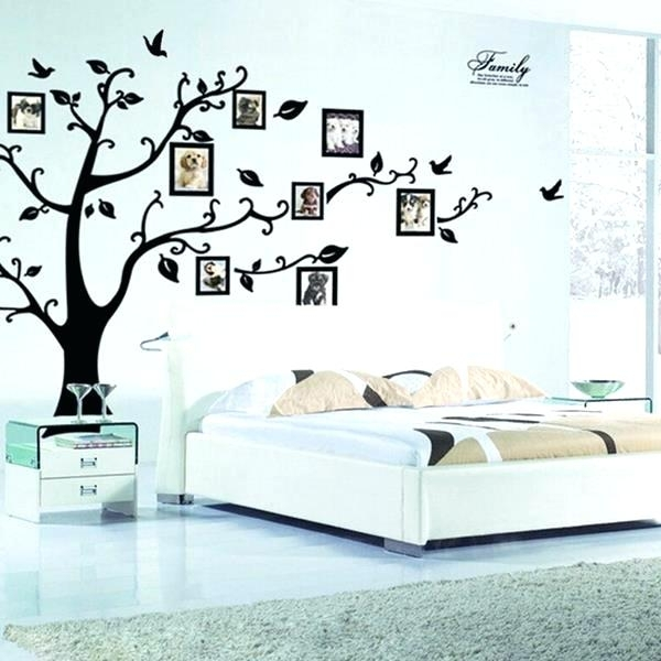 Stick On Wall Art Large Size Of Bedroom Wall Decals Bedroom Peel And Regarding Stick On Wall Art (Image 15 of 20)