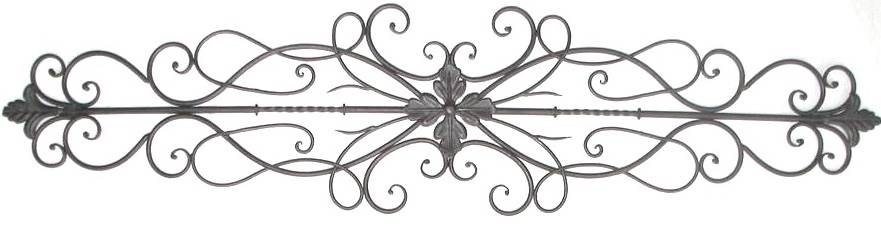 Stylish Wrought Iron Scroll Wall Decor 2018 | Rebuild Wall Decor Intended For Metal Scroll Wall Art (View 3 of 20)