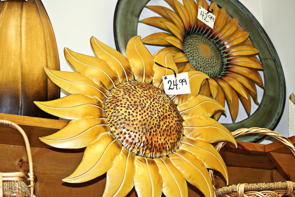 Sunflower Wall Art Decor Metal Sunflower Wall Decor Humorous Plaques Regarding Sunflower Wall Art (Image 17 of 25)