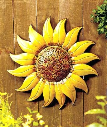 Sunflower Wall Art Elegant Sunflower Wall Art Sunflower Wall Art With Regard To Sunflower Wall Art (Image 18 of 25)