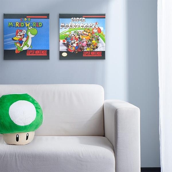 Super Nintendo Box Art Canvas Inside Nintendo Wall Art (View 7 of 20)