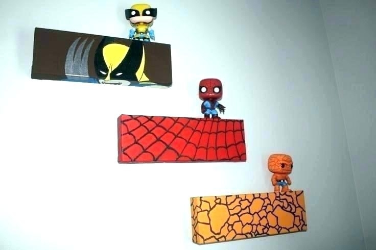 Superhero Wall Decor Bedroom Superheroes Ideas Marvel Room Or Art For Superhero Wall Art (Image 13 of 20)
