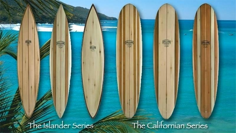 Surfboard Wall Decor Surfboard Decal Surfboard Wall Art Surf Decor With Surfboard Wall Art (View 8 of 25)
