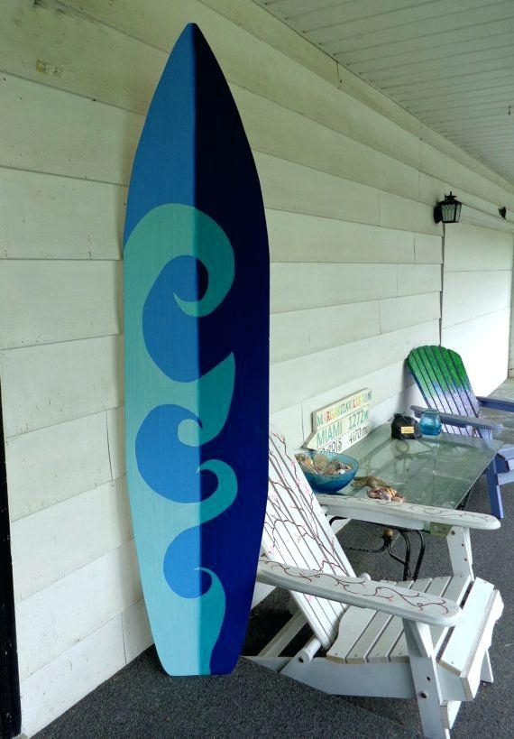 Surfboards Wall Decor 6 Pied Surfboard Wall Art Par Home Design App Pertaining To Surfboard Wall Art (Image 18 of 25)