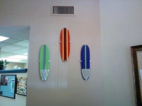 Surfer Wall Art Inspirational Surfboard Wall Art Surfboard Wall Art Intended For Surfboard Wall Art (View 18 of 25)