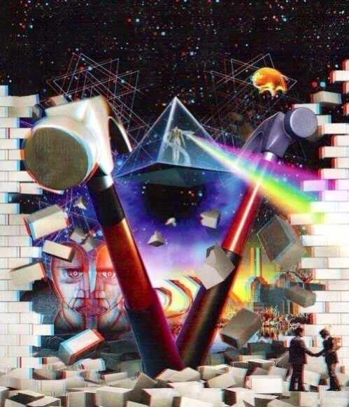Surreal Art Pink Floyd Wall Art | Art Surreal & Fantasy | Pinterest In Pink Floyd The Wall Art (View 18 of 20)