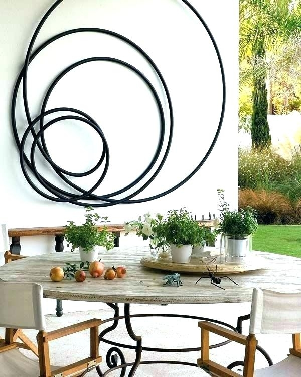 Swinging Outdoor Wall Decor – Nishigateway Within Metal Outdoor Wall Art (Image 24 of 25)