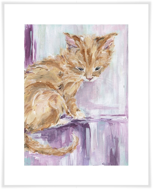 Tabby Cat, Dog & Cats Canvas Wall Art | Greenbox Regarding Cat Canvas Wall Art (View 16 of 25)