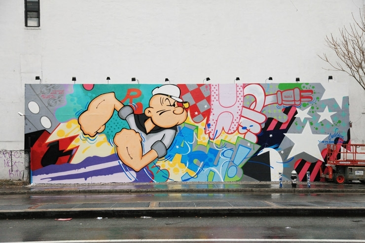 Talking With Crash About Popeye And The Houston Wall : Brooklyn With Houston Wall Art (View 17 of 25)