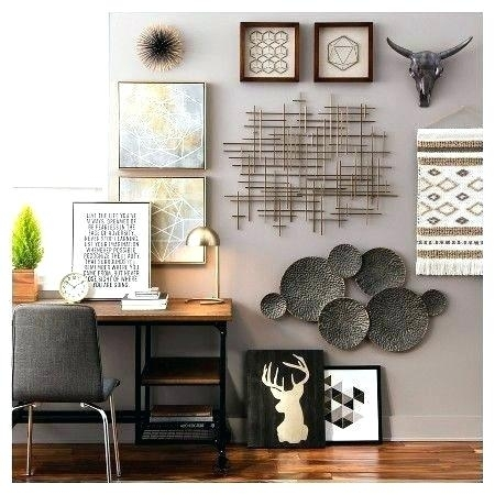 Target Metal Wall Art Target Metal Wall Art Black Gold Wall With Regard To Target Wall Art (Image 6 of 10)