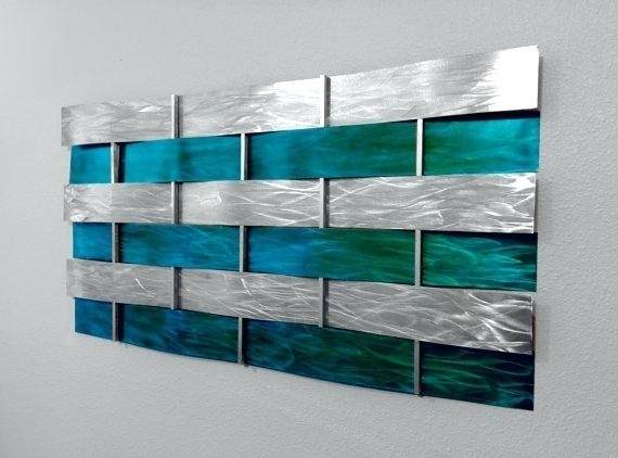 Featured Photo of Teal Wall Art