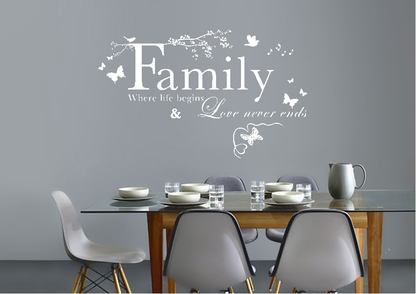 Text Quotes Wall Stickers | Wallartdirect.co (Image 19 of 25)