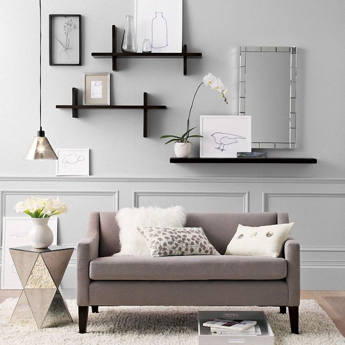 The Elegant Along With Interesting Wall Decor For Living Room Regarding Wall Art Ideas For Living Room (Image 22 of 25)