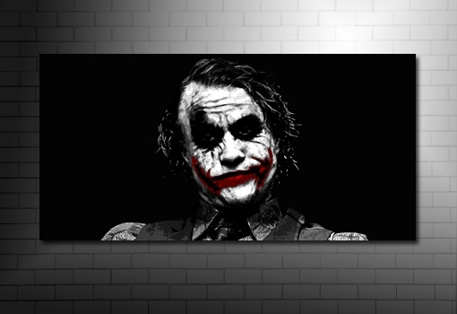 The Joker Canvas Art For Joker Wall Art (Image 13 of 20)