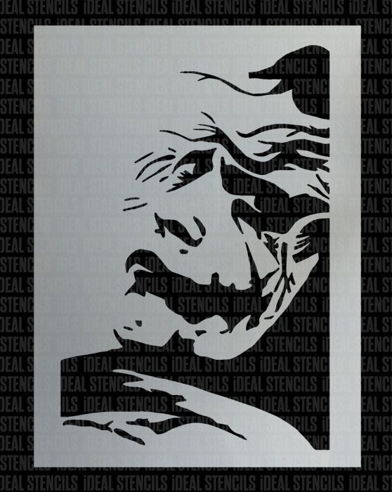 The Joker Wall Art | Ideal Stencils For Joker Wall Art (Image 15 of 20)