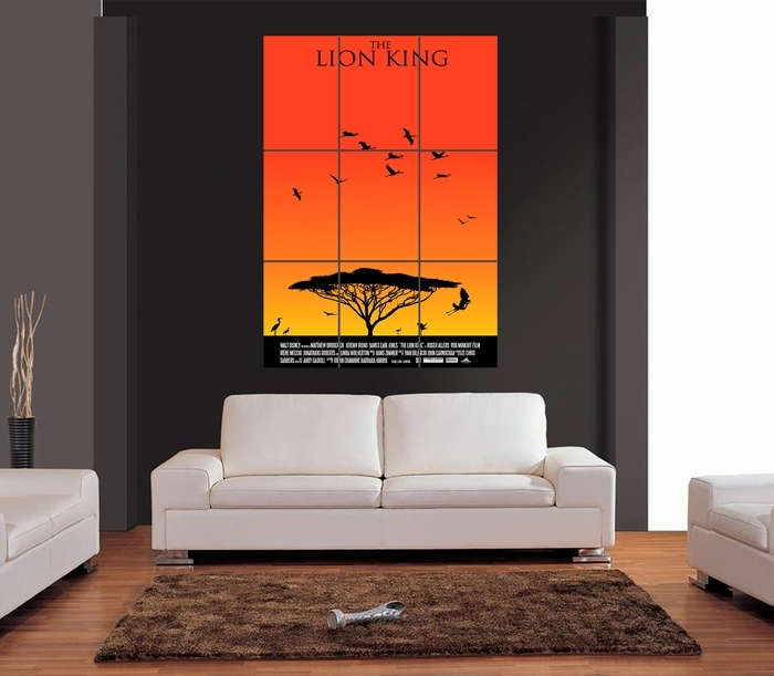 Featured Image of Lion King Wall Art