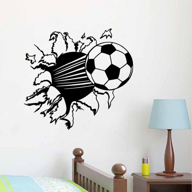 Featured Image of Soccer Wall Art