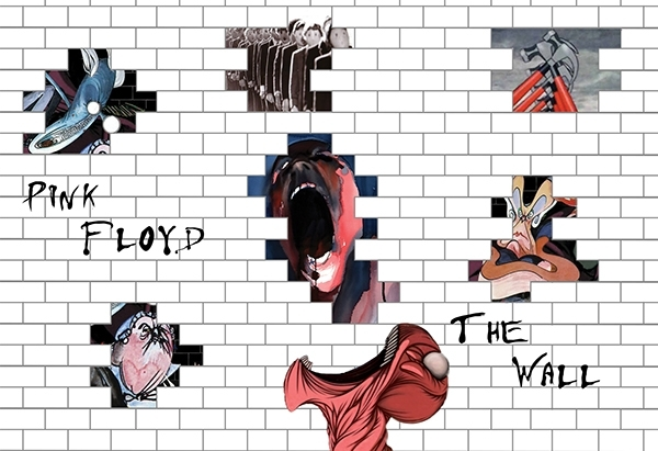 The Wall Artwork Pink Floyd – Copperc Art Cafe With Pink Floyd The Wall Art (View 8 of 20)
