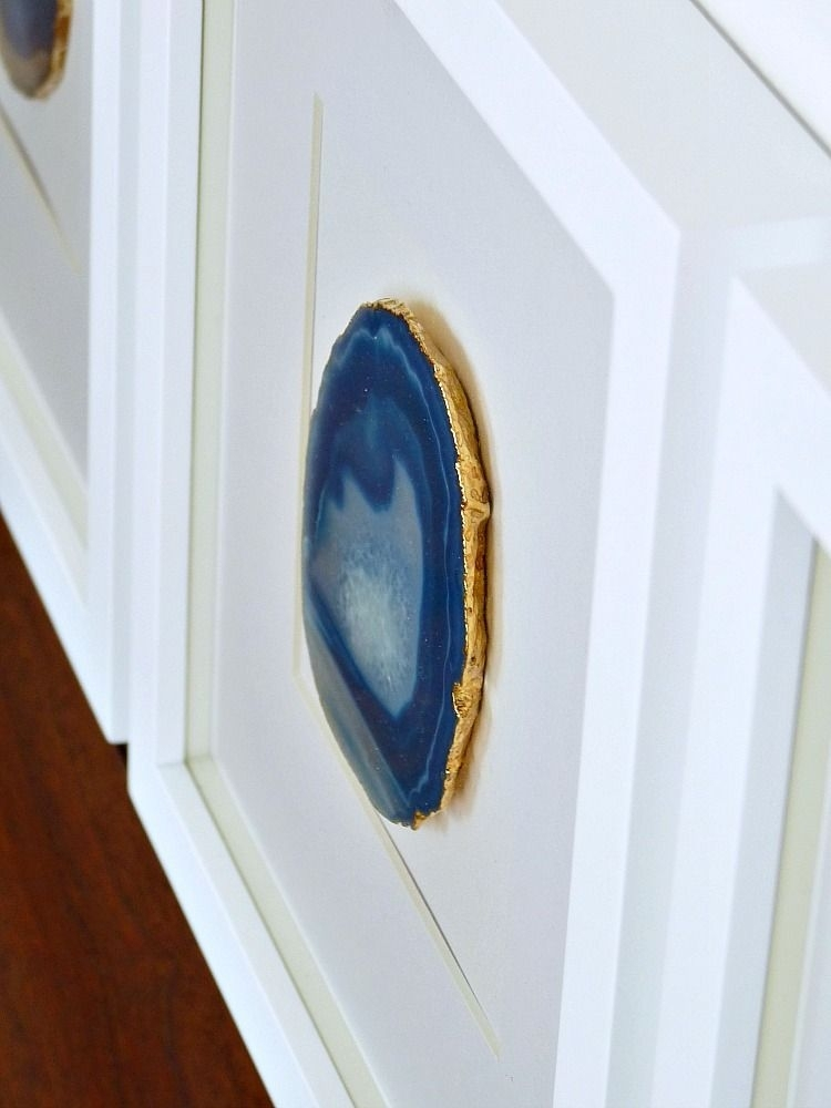 This Diy Agate Wall Art Is Head Turningly Stylish — And Shockingly Inside Agate Wall Art (Photo 1 of 25)
