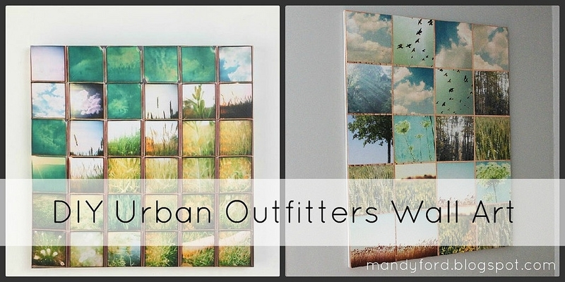 This Girl's Life: {Diy Urban Outfitters Wall Art} Regarding Urban Outfitters Wall Art (Image 12 of 25)