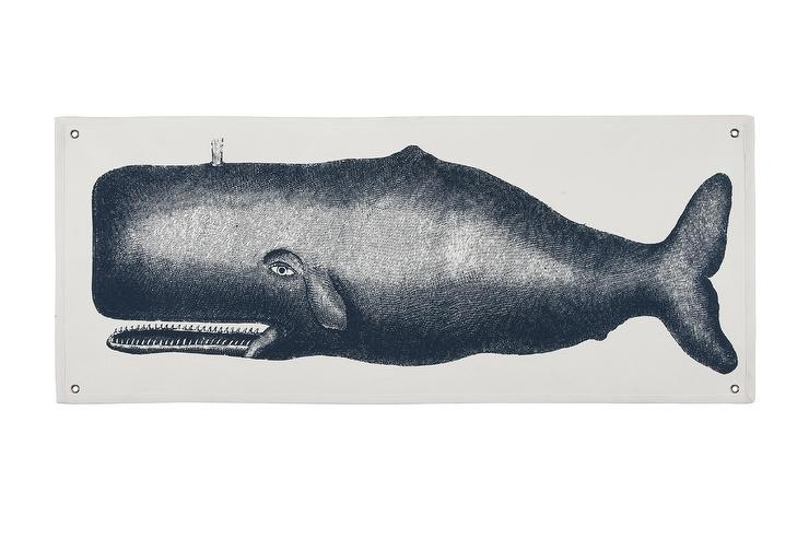Thomas Paul Blue Moby Canvas Wall Panel Pertaining To Whale Canvas Wall Art (View 25 of 25)