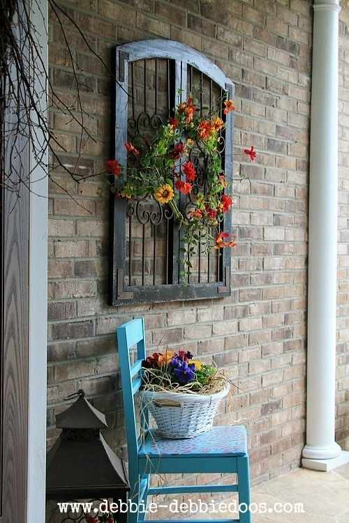 Thrifty Makeovers Take 2 | Your Best Diy Projects | Pinterest Intended For Outdoor Wall Art Decors (Image 19 of 20)