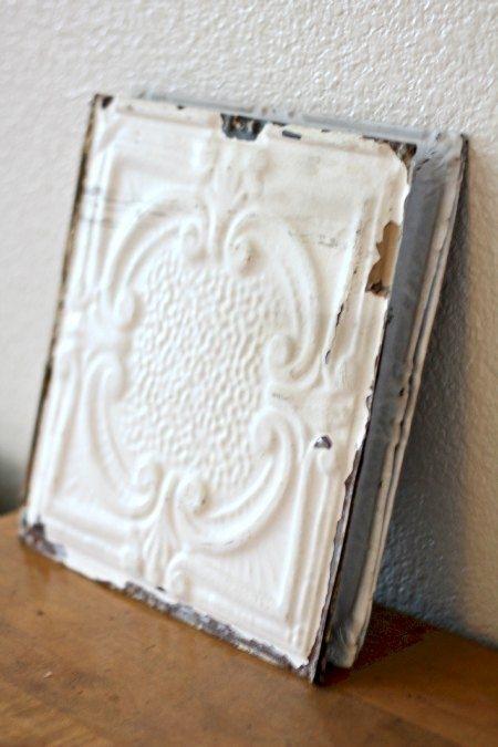 Tin Ceiling Tiles Wall Art | House Love | Pinterest | Ceiling Tiles Pertaining To Tin Wall Art (View 20 of 25)