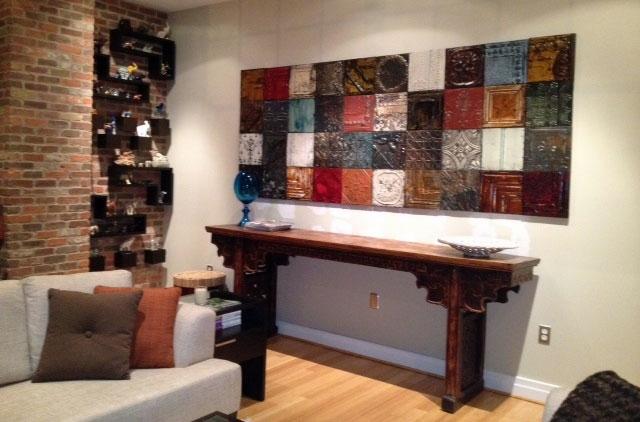 Tin Tile Wall Art | Jonathan Steele Pertaining To Tin Wall Art (View 17 of 25)