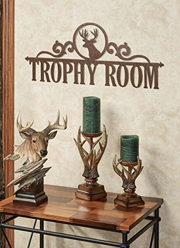 Touch Of Class Metal Occasions Personalized Wall Art Sign Deer With Regard To Touch Of Class Wall Art (View 20 of 25)