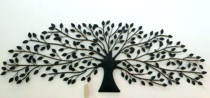 Tree Of Life Decoration Tree Of Life Metal Wall Art Large Large Regarding Metal Tree Wall Art (View 5 of 10)
