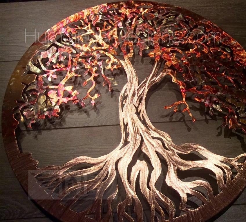 Tree Of Life (Pure Copper) | Celtic & Tree Misc (View 4 of 10)