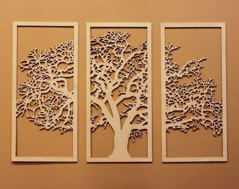 Tree Of Life Wall Art | Pinterest | Office Walls, Wooden Walls And Throughout Tree Of Life Wall Art (View 9 of 10)